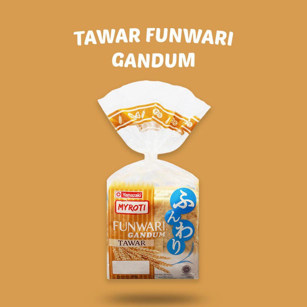 Roti Funwari Gandum