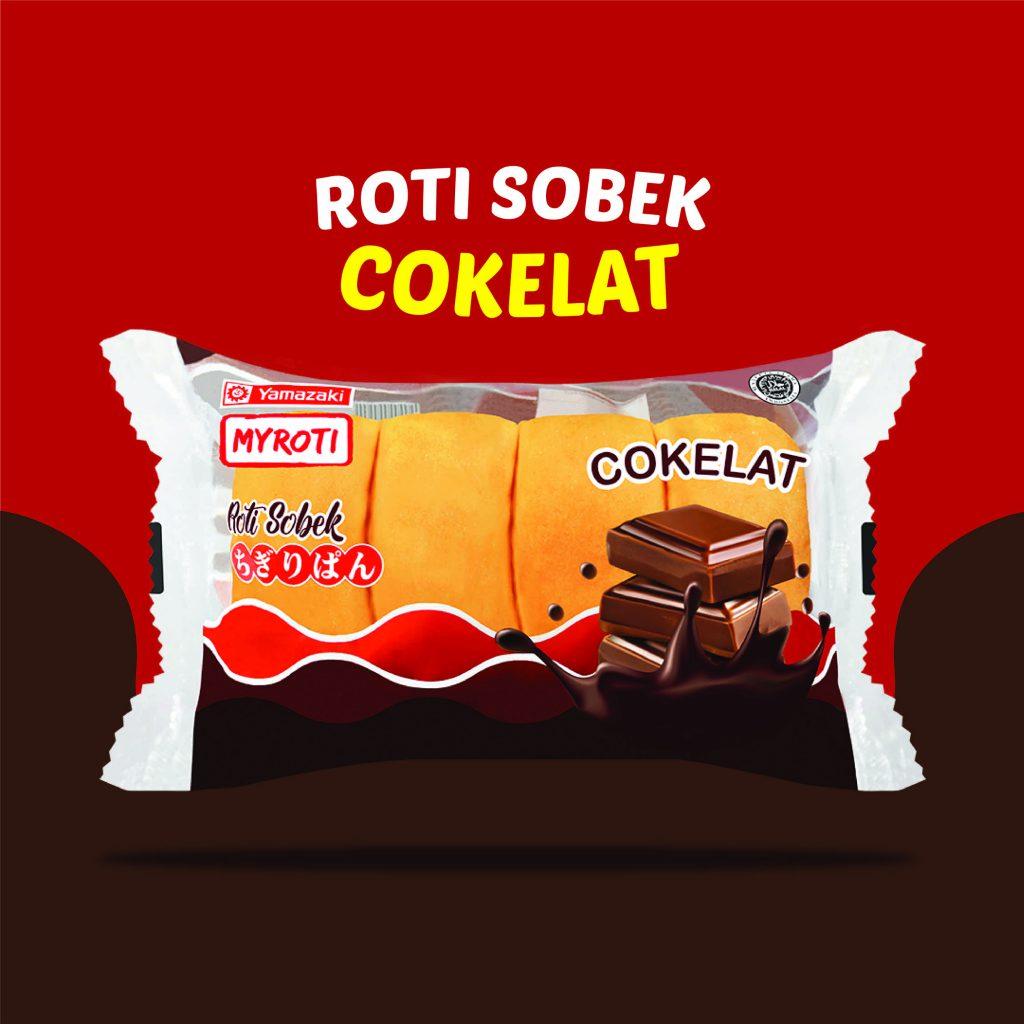 Roti Sobek Cokelat