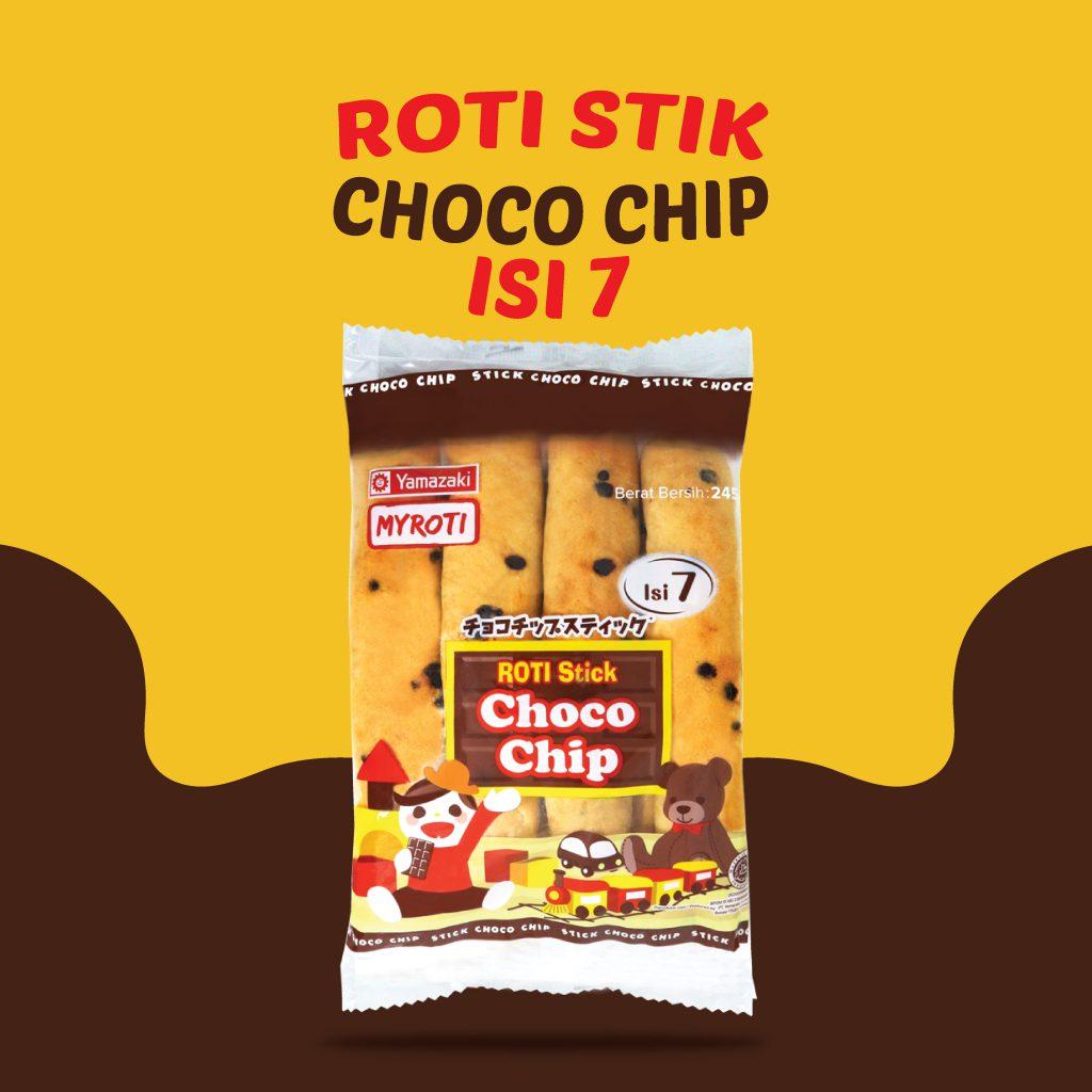 Roti Stik Chocho Chip Isi 7