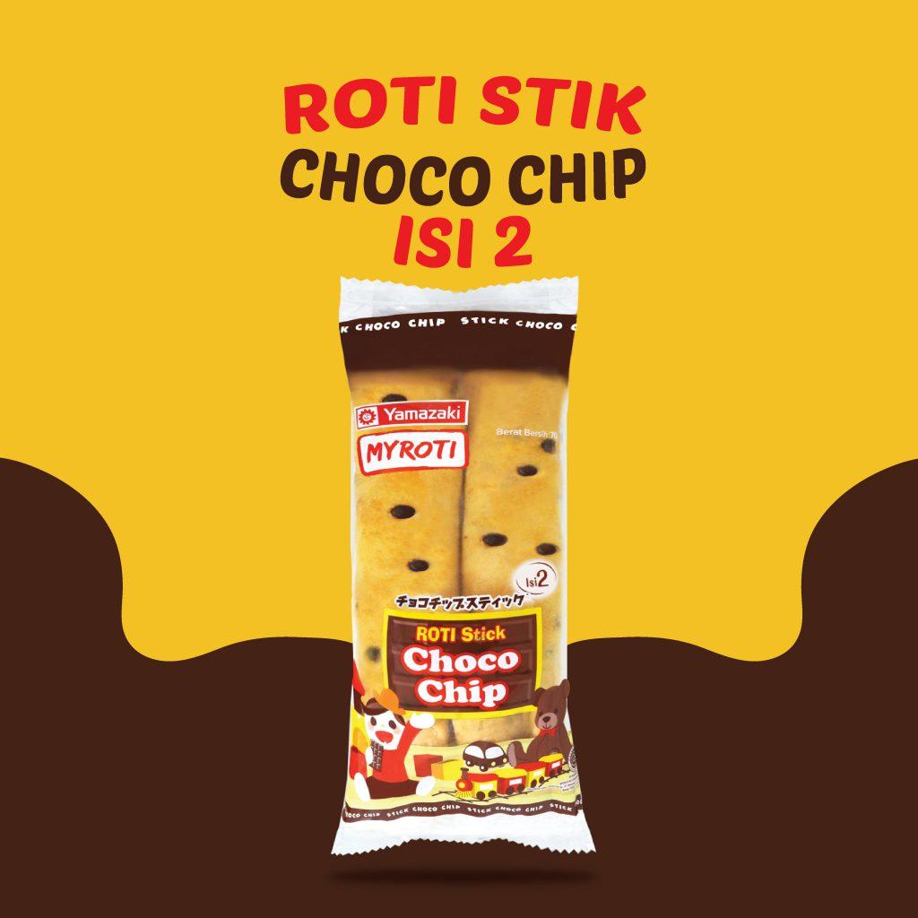 Roti Stik Chocho Chip Isi 2