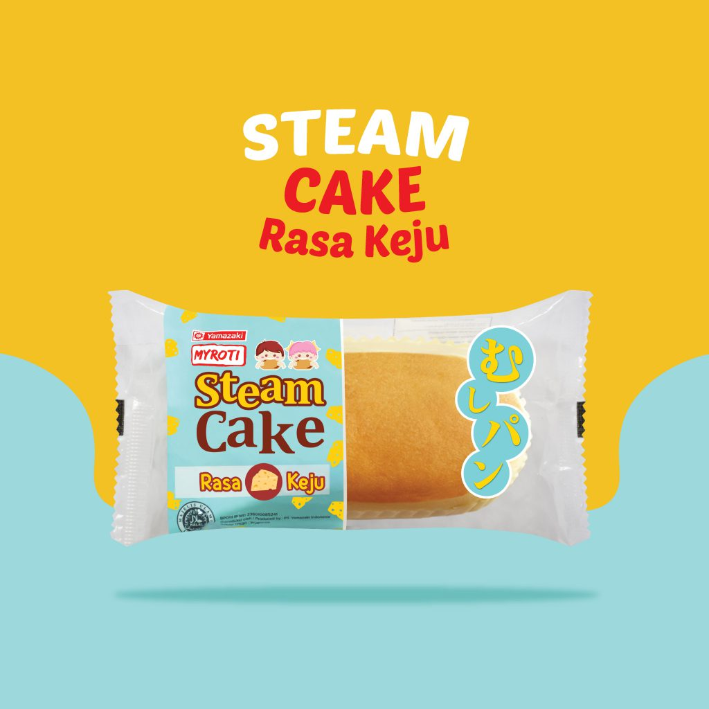 Steam Cake Rasa Keju