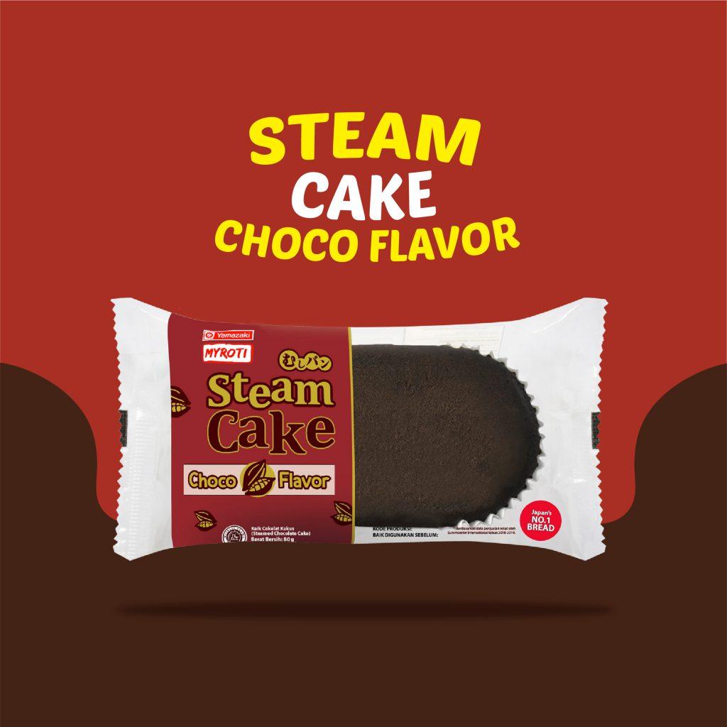 Steam Cake Choco Flavor