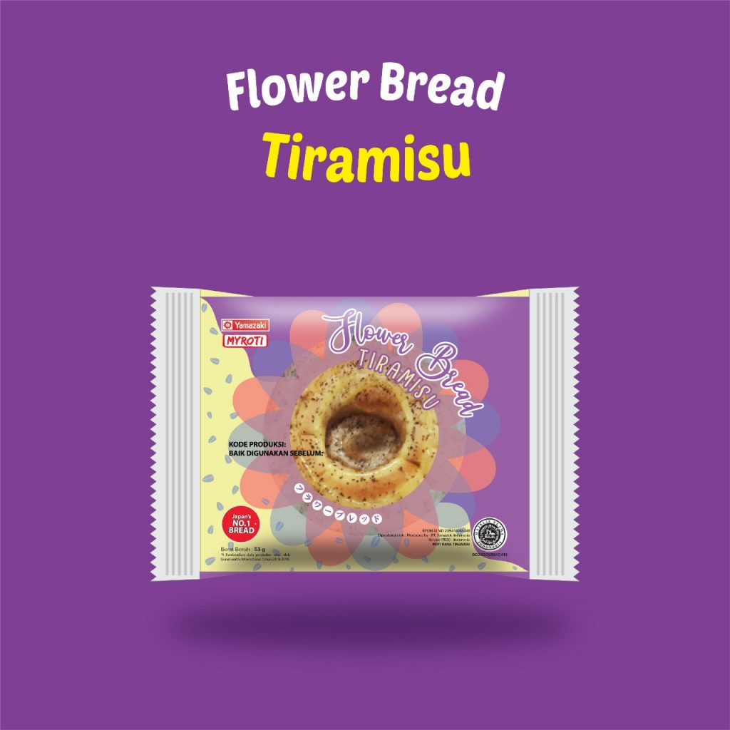 Flower Bread Tiramisu