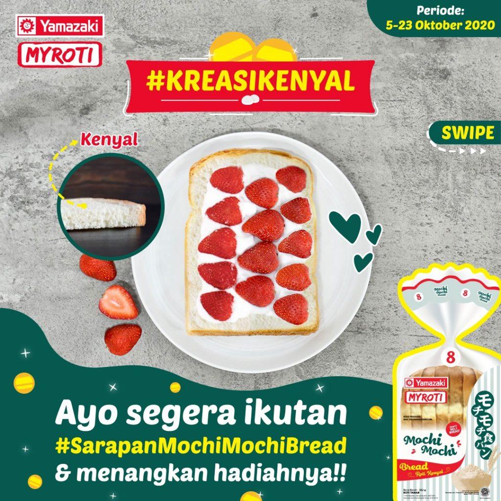 Sarapan Mochi-Mochi Campaign 1