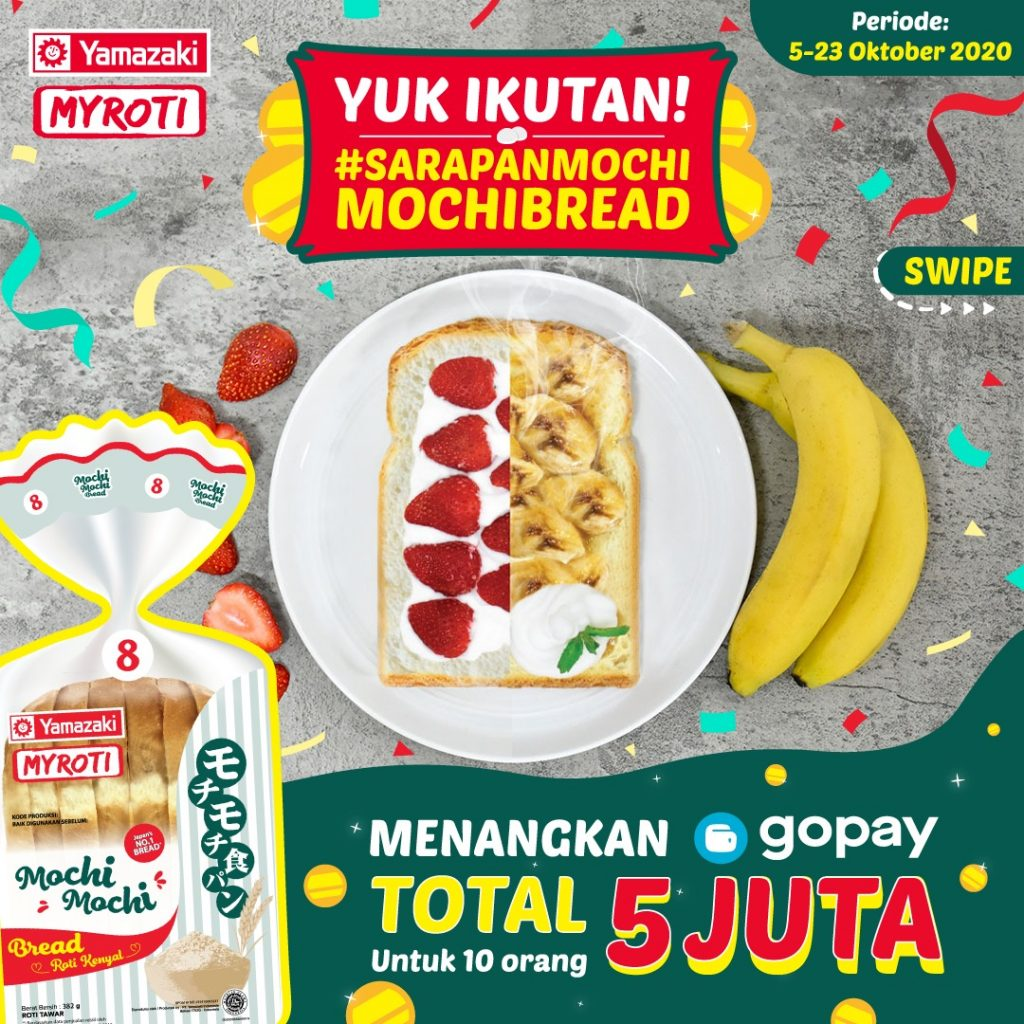 Sarapan Mochi-Mochi Campaign