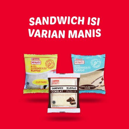 Sandwich Isi Varian Manis